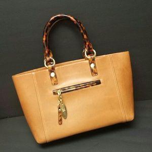 BRAHMIN Saddle Leather Satchel